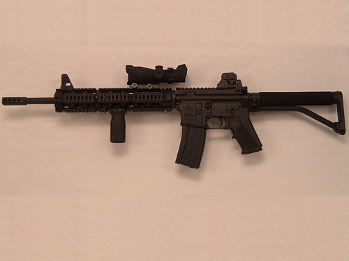AR 16-Inch Shorty 4 Rail