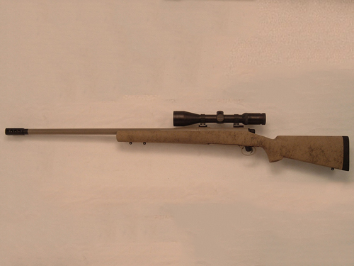Bolt Rifle 26-Inch Desert Hunt